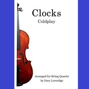 Clocks - Coldplay for String Quartet