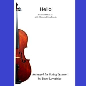 Adele - Hello - String Quartet