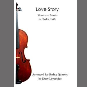 Taylro Swift - Love Story - String Quartet