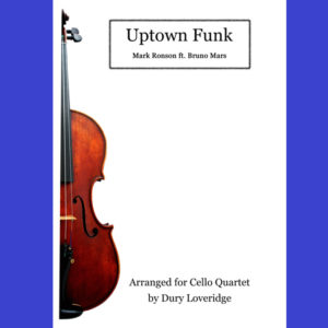 Uptown Funk - Cello Quartet